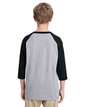 Gildan G570B Youth Raglan Sleeve T-Shirt