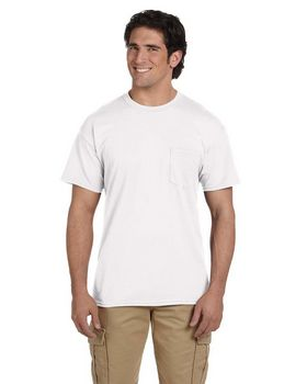Gildan G8300 50/50 Pocket Tee - Shop at ApparelnBags.com