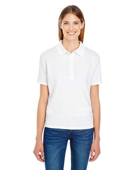 Hanes 035P Ladies X-Temp Pique Polo with Fresh IQ