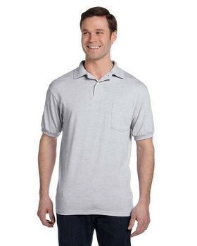 Hanes 054P 50/50 Jersey Pocket Polo - Shop at ApparelnBags.com