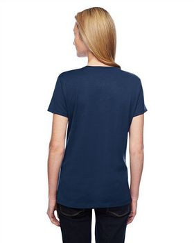 Hanes 42V0 Ladies Xtemp V-Neck T-Shirt