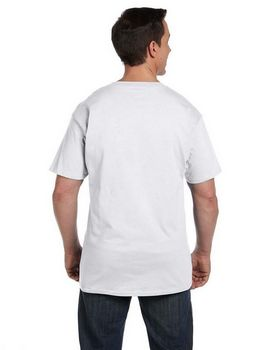 Hanes 5190P Ringspun Cotton Beefy T-Shirt with Pocket