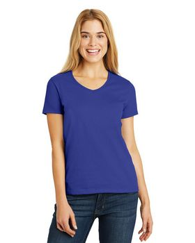Hanes 5780 Ladies ComfortSoft V Neck T Shirt