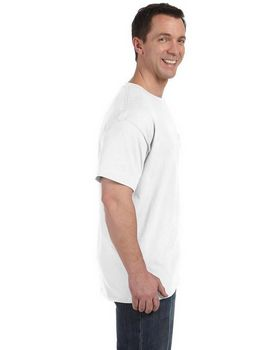 Hanes H5590 6.1oz. Tagless Pocket T-Shirt