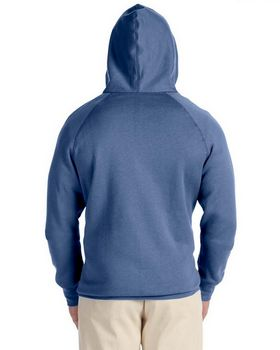 Hanes N280 Men's Nano Full Zip Hoodie Sweatshirt