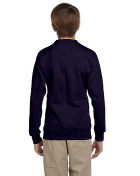 Hanes P360 Youth ComfortBlend 50/50 Fleece Crew