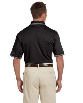 Harriton M140 Mens Cotton Jersey S-Sleeve Polo
