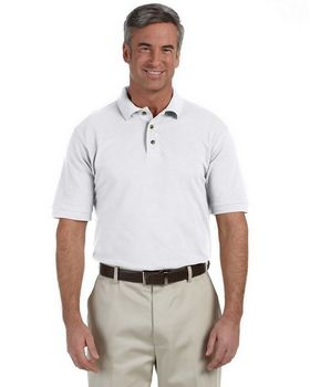 Harriton M200T Tall Ringspun Cotton Pique Polo