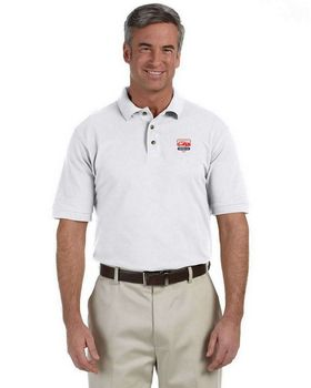 Harriton M200 Mens Ringspun Cotton Pique S-Sleeve Polo