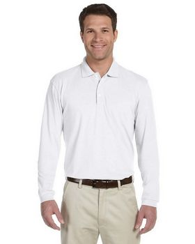Harriton M265L Mens Easy Blend Polo