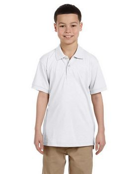 Harriton M265Y Youth Easy Blend Polo