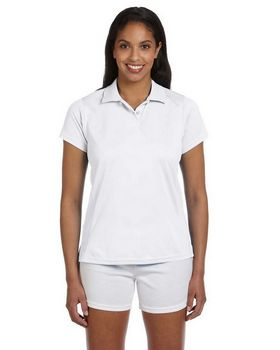 Harriton M315W Ladies Polytech Polo