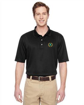 Harriton M345 Mens Advantage IL Snap Polo