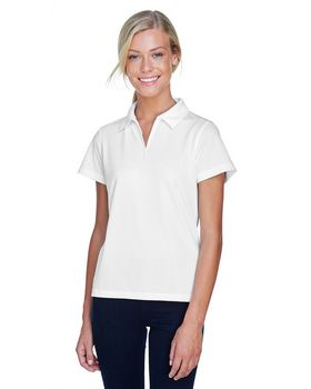 Harriton M353W Ladies Double Mesh Sport Shirt