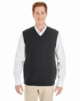 Harriton M415 Mens Pilbloc V-Neck Sweater Vest