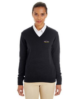 Harriton M420W Ladies Pilbloc V-Neck Sweater