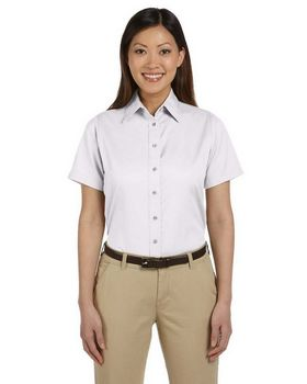 Harriton M500SW Ladies S-Sleeve Twill Shirt