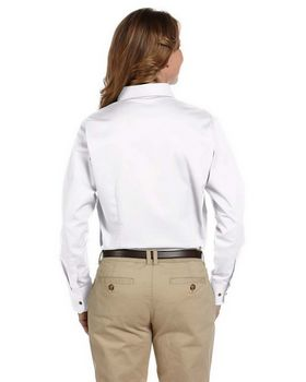 Harriton M500W Ladies L-Sleeve Shirt