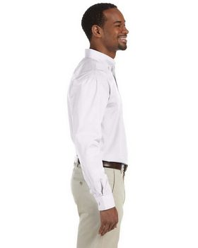 Harriton M510T Mens Tall Value Poplin
