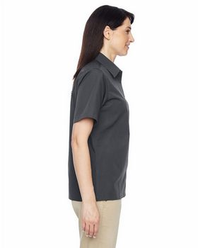 Harriton M545W Ladies Advantage Snap Closure Shirt