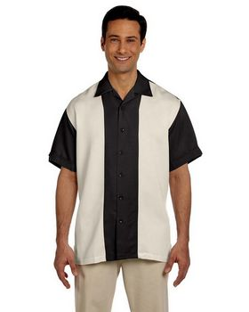 Harriton M575 Mens Bahama Cord Camp Shirt