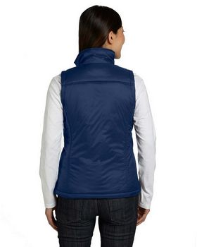 Harriton M795W Ladies Essential Polyfill Vest