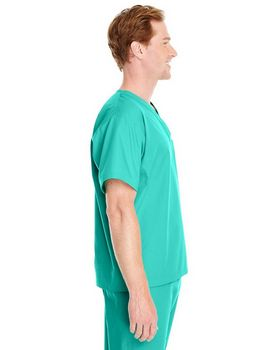 Harriton M897 Adult Restore 4.9 oz. Scrub Top