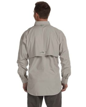 Hook & Tackle 1013L Men's Gulf Stream L-Sleeve Fishing Shirt