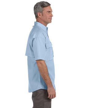 Hook & Tackle 1013S Men's Gulf Stream S-Sleeve Fishing Shirt