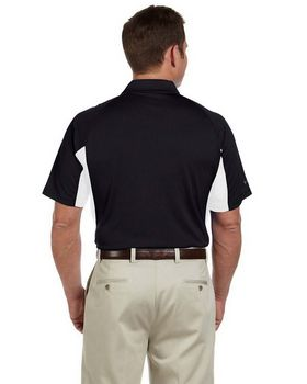 Izod 13Z0106 Men's Contrast Block Performance Dobby Polo