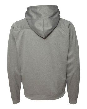J America 8973 Polyester Fleece Hooded Pullover
