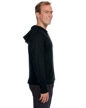 J America J8231 Sport Lace Jersey Hooded Fleece