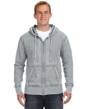 J America J8916 JA FullZip Burnout Sweat
