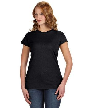 J America JA8138 Ladies Glitter T-Shirt