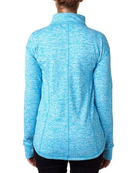 J America JA8617 Ladies Fleece Quarter-Zip