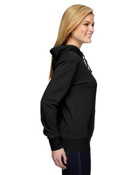 J America JA8860 Ladies Glitter French Terry Hood