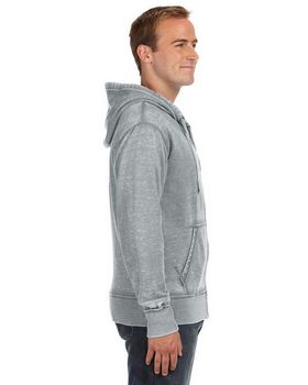 J America JA8916 Men's Vintage Zen Full Zip Fleece Hood