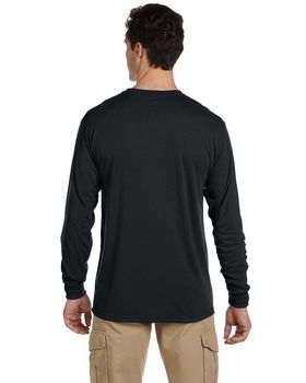 Jerzees 21L Adult Sport Polyester Long-Sleeve T-Shirt