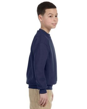 Jerzees 4662B Youth Super Sweats 50/50 Crew