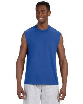 Jerzees 49M HiDENSI-T Cotton Sleeveless T-Shirt