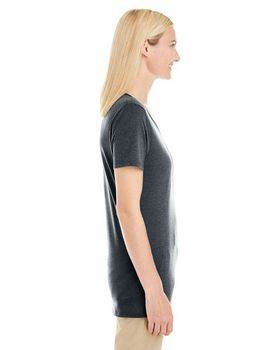 Jerzees 601WVR Ladies 4.5 oz. V-Neck T-Shirt