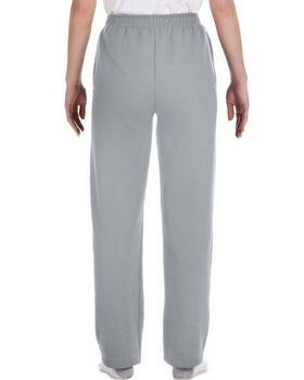 Jerzees 974Y Youth 50/50 NuBlend Open-Bottom Sweatpants