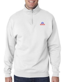 Jerzees 995 Adult NuBlend Quarter-Zip Cadet-Collar Sweatshirt