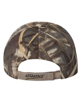 Kati LC924 Camouflage Cap with American Flag Sandwich Bill