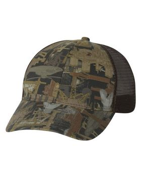 Kati OIL5M Oil Field Camo Cap With Mesh Back