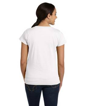 Lat 3516 Fine Jersey Longer Length T-Shirt