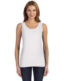 Lat 3690 Fine Jersey Longer Length Tank