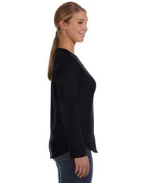 Lat 3761 Ladies V-Neck Pullover