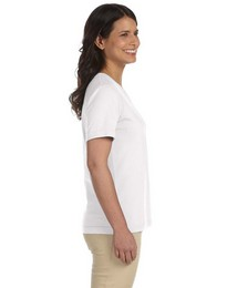 LAT L3587 Ladies' Combed Ringspun Jersey T-Shirt