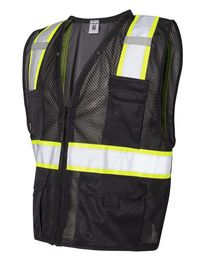 Ml Kishigo B100-103 Enhanced Visibility Multi-Pocket Mesh Vest